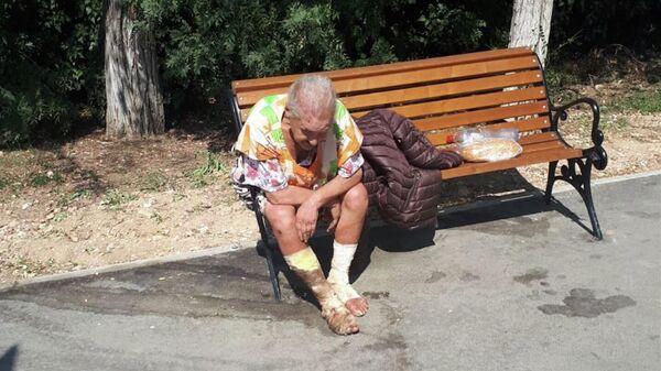 Пенсионерка, которая умерла в Севастополе на скамейке неподалеку от городской больницы