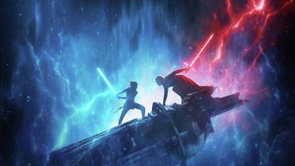 Постер фильма Звёздные Войны: Скайуокер. Восход