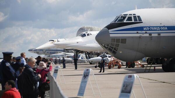 Военно-транспортный самолёт Ил-76 МД-90А