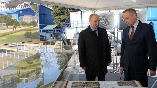 Путин и Беглов обсудили планы развития Петербурга