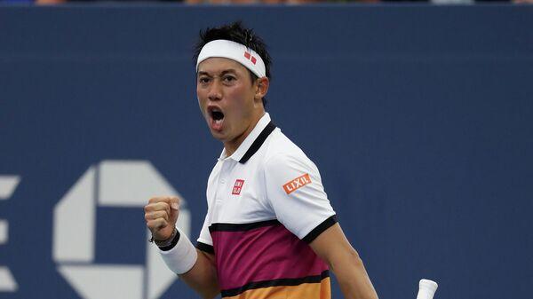 Теннисист Кэй Нисикори (Япония)