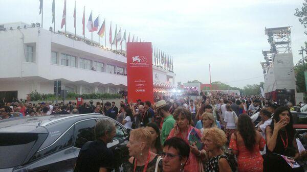 На открытии фестиваля