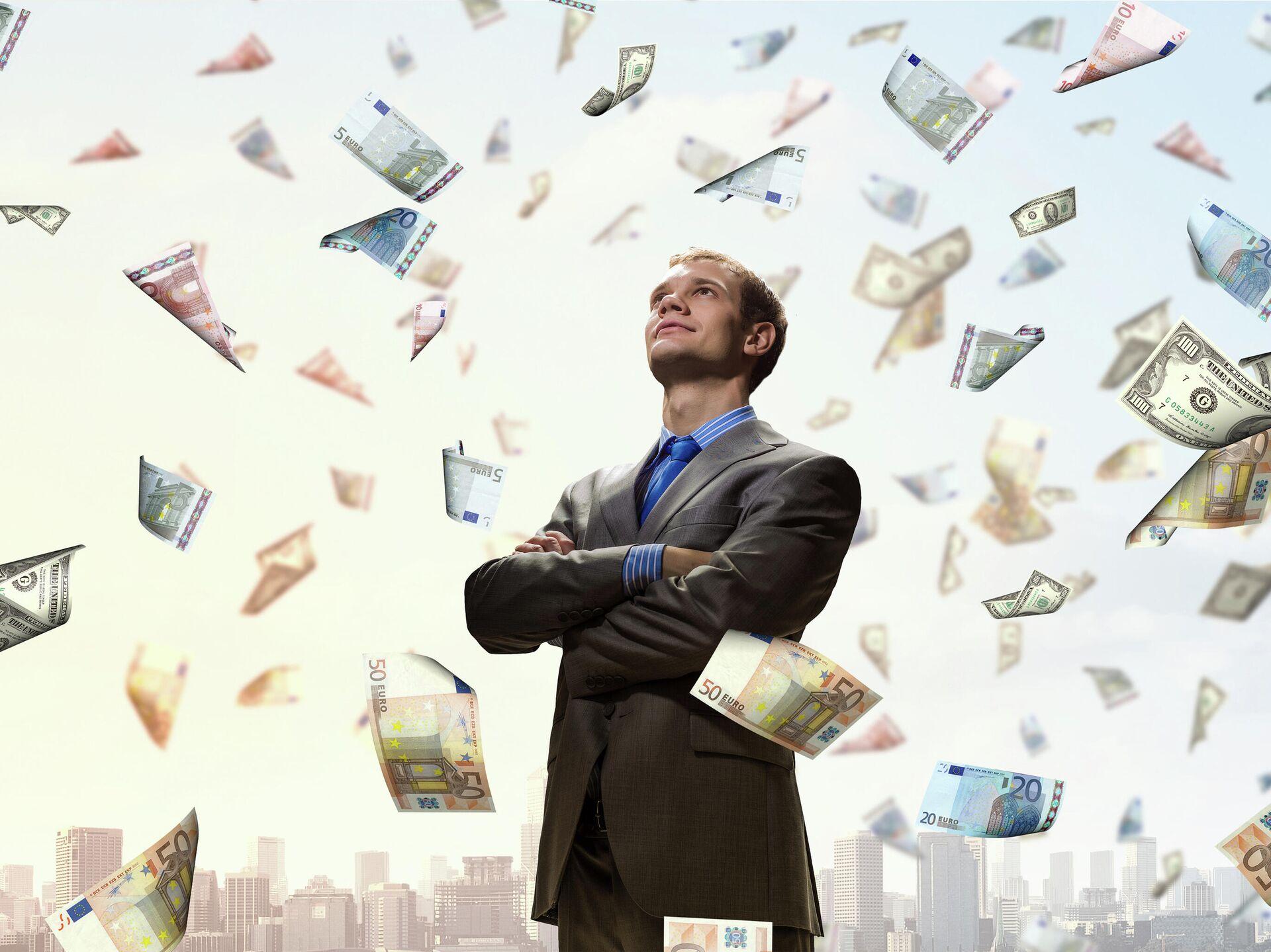 Деньги к деньгам тянутся? Почему одним удается разбогатеть, а другим нет -  РИА Новости, 01.09.2019