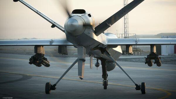 Разведывательно-ударный БПЛА MQ-9 Reaper британских ВВС