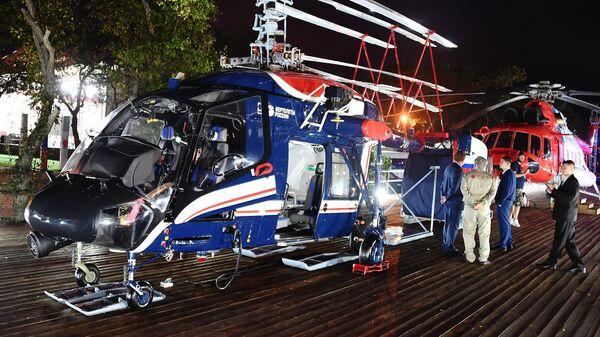 Вертолет Ка-226Т на Восточном экономическом форуме