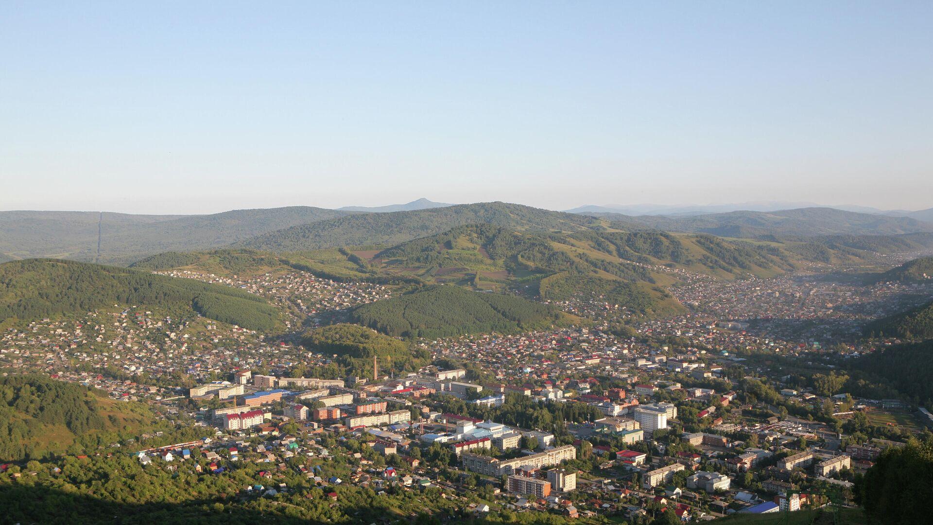 Вид на город Горно-Алтайск - РИА Новости, 1920, 02.12.2020