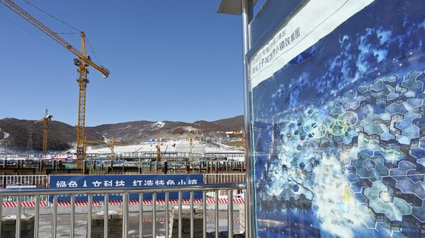 Строительство объектов для Зимних Олимпийских игр 2022 в Чжанцзякоу