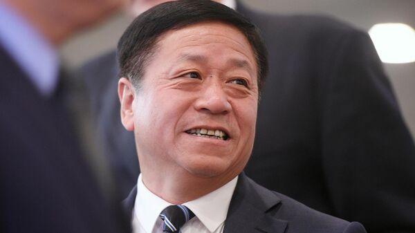 Чрезвычайный и полномочный посол Китайской Народной Республики (КНР) в РФ Чжан Ханьхуэй