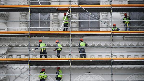 Реставрация Политехнического музея в Москве