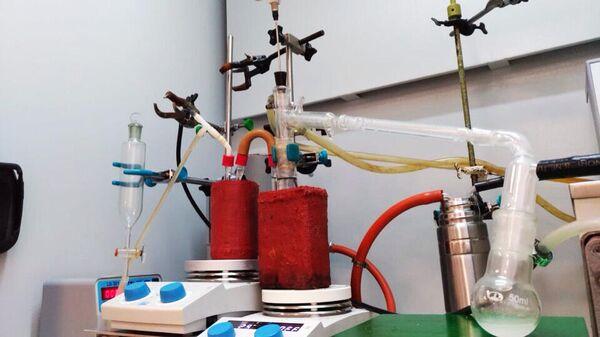 Модель реактора для непрерывного синтеза мономеров, созданная в Томском политехническом университете