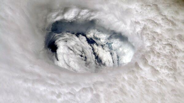 Ураган Дориан с борта Международной космической станции
