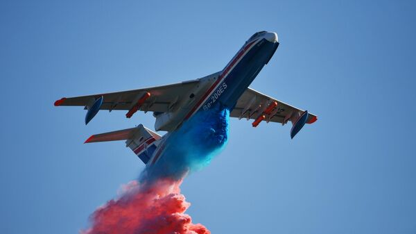 Российский самолёт-амфибия Бе-200ЧС