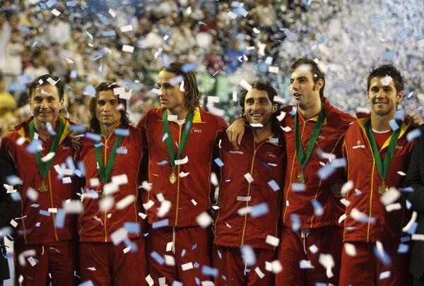 Сборная Испании - обладатель Кубка Дэвиса-2008