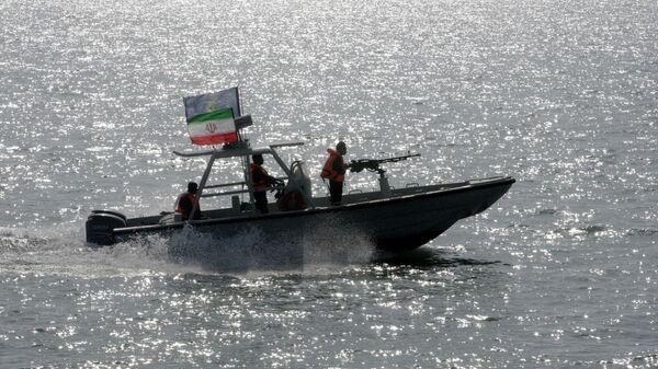 Катер Корпуса Стражей Исламской революции