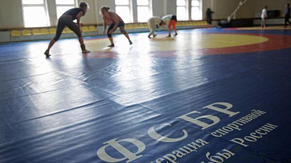 Подготовка женской сборной по вольной борьбе к Олимпийским Играм
