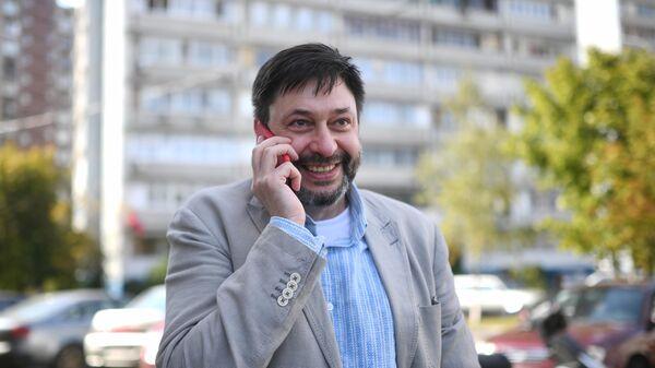 Руководитель портала РИА Новости Украина Кирилл Вышинский в Москве