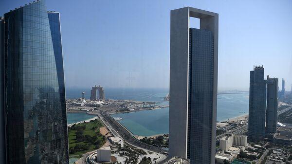 Вид на Абу-Даби