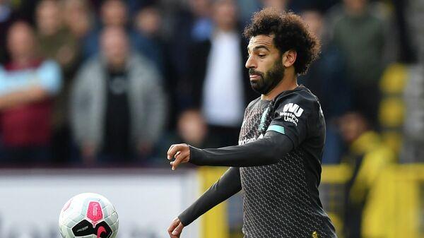 Нападающий ФК Ливерпуль Мохамед Салах