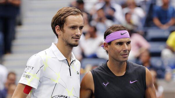 Российский теннисист Даниил Медведев проиграл в финале турнира US Open испанцу Рафаэлю Надалю