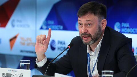 Руководитель портала РИА Новости Украина Кирилл Вышинский на пресс-конференции в Международном мультимедийном пресс-центре МИА Россия сегодня