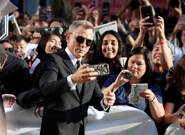 Английский актер Дэниел Крэйг на Международном кинофестивале в Торонто