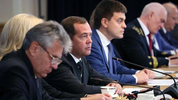 Председатель правительства РФ Дмитрий Медведев на XXI Менделеевском съезде по общей и прикладной химии