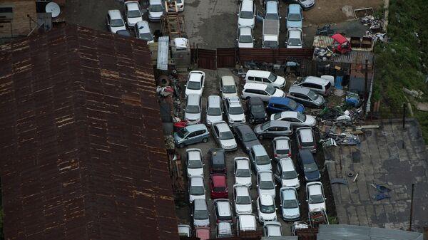 Пункт утилизации автомобилей