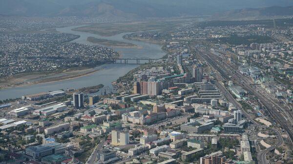 Вид на Улан-Уде