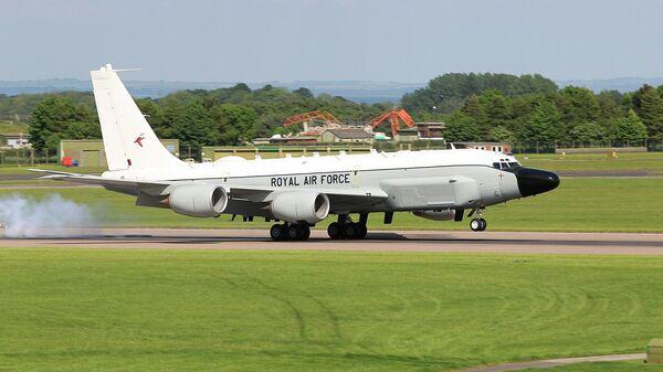 Самолет-разведчик Boeing RC-135W в ВВС Великобритании