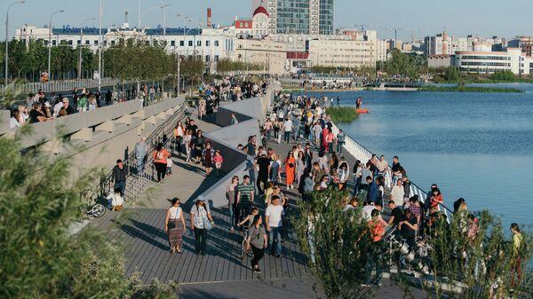 Набережная озера Кабан, Казань