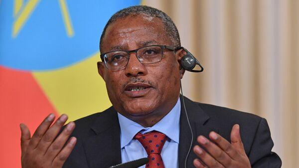 Министр иностранных дел Федеративной Демократической Республики Эфиопии Геду Андаргачеу