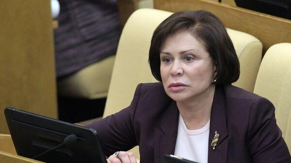 Заместитель председателя комитета Госдумы по международным делам Ирина Роднина