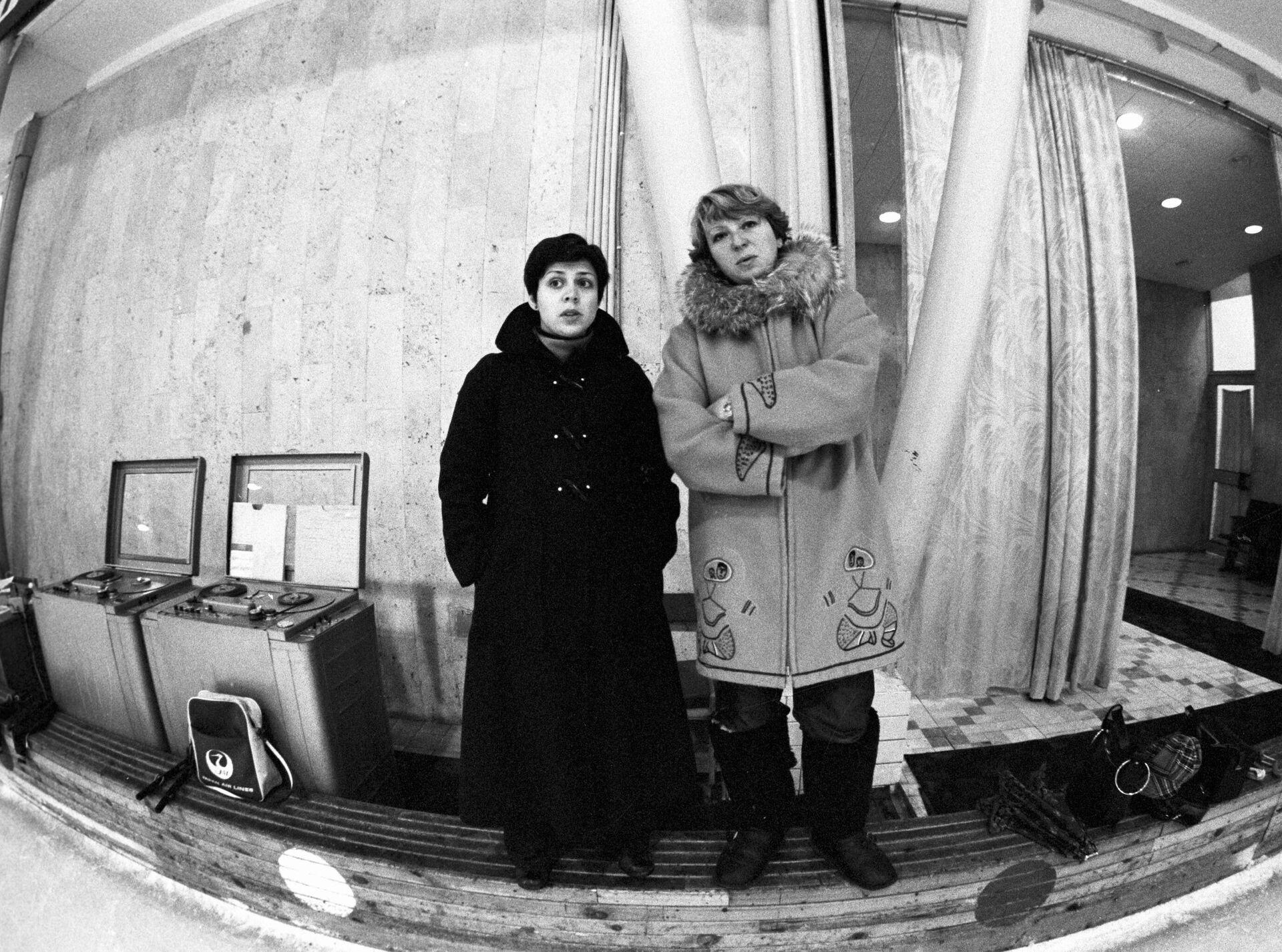 Ирина Роднина и ее тренер Татьяна Тарасова - РИА Новости, 1920, 23.05.2021