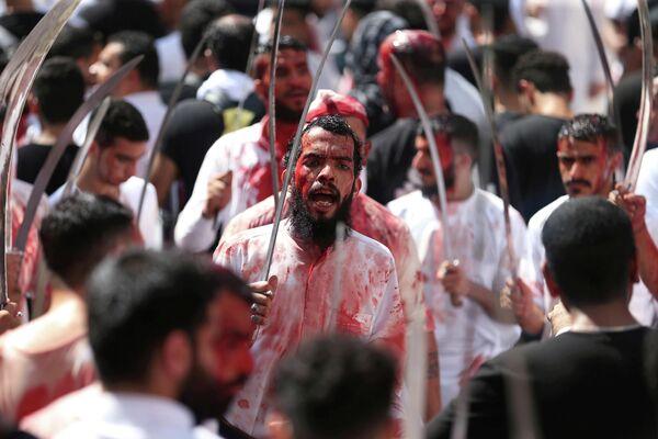 Празднование дня Ашура в Манаме, Бахрейн
