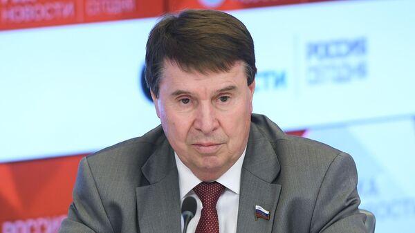 Член Комитета по международным делам Совета Федерации Сергей Цеков