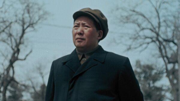 Мао Цзэдун. Кадр из фильма Второе рождение Поднебесной