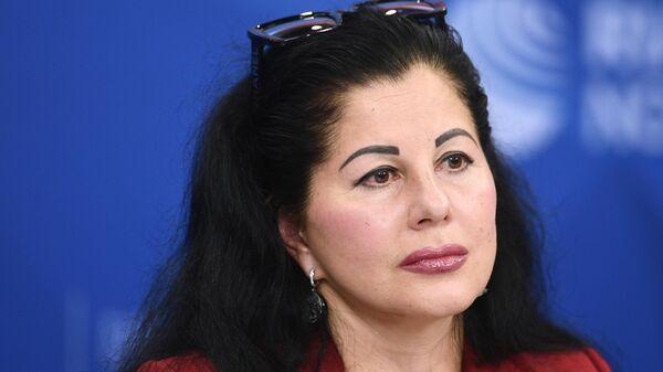 Президент Федерации конного спорта России Марина Сечина