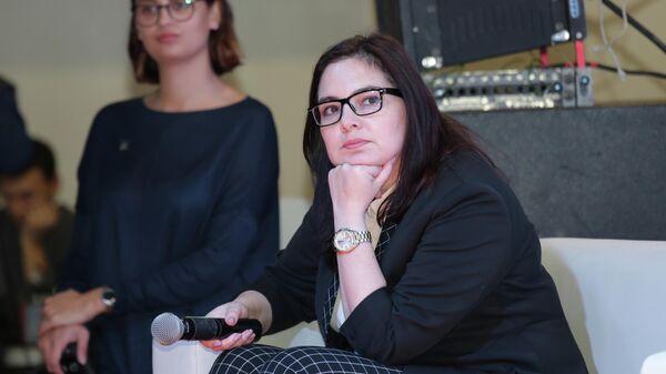 Ирина Алашкевич на областном фестивале Байкальская пресса-2018