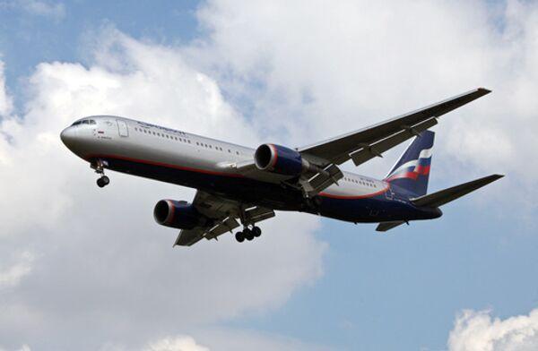 Самолет Boeing 767-300 авиакомпании Аэрофлот