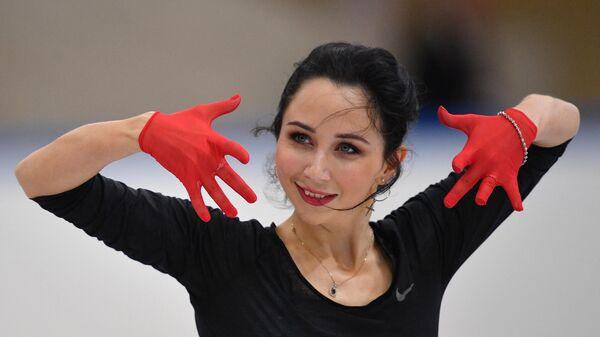 Фигуристка Елизавета Туктамышева (Россия)