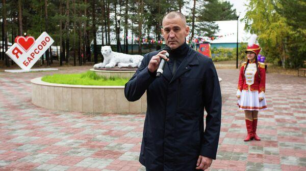 Открытие сквера в поселке Барсово