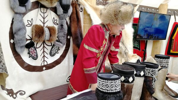 Предметы национальной одежды якутов