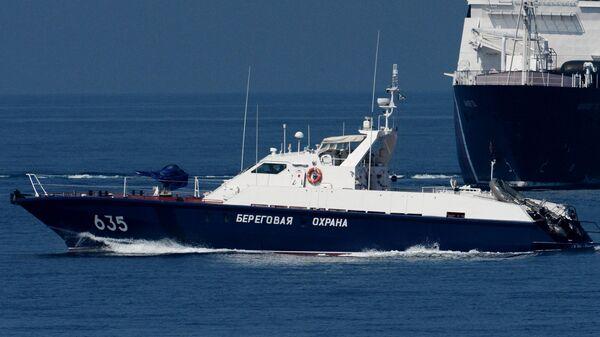 Пограничные сторожевые корабли береговой охраны России в Приморье