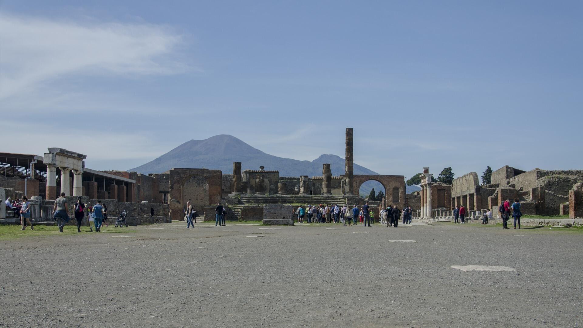 В Помпеях обнаружили уличный киоск с остатками пищи