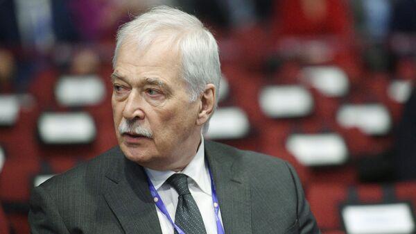 Председатель Высшего совета партии Единая Россия Борис Грызлов