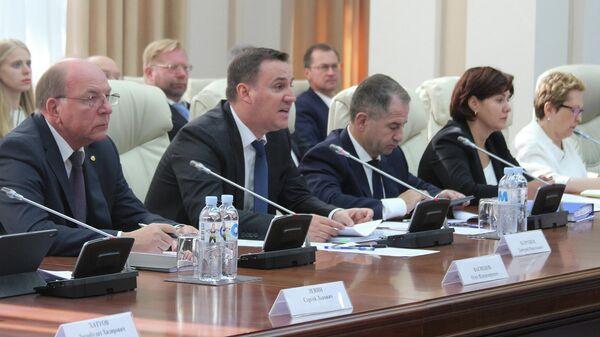 Заседание российско-молдавской межправительственной комиссии в Кишиневе
