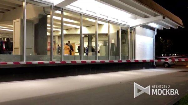 Обстановка на месте стрельбы у станции метро Рязанский проспект