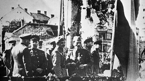 Великая отечественная война 1941-1945 гг. Освобождение Югославии от немецко-фашистских захватчиков