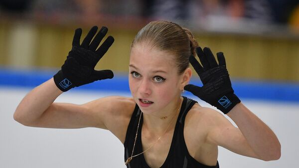 Фигуристка Александра Трусова (Россия)