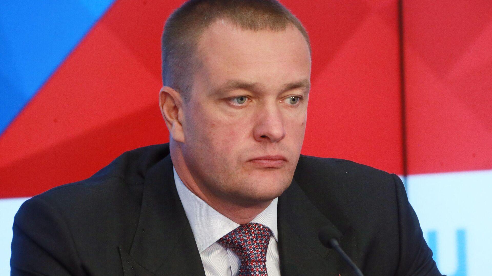 Президент и генеральный директор БК ЦСКА Андрей Ватутин - РИА Новости, 1920, 19.01.2021